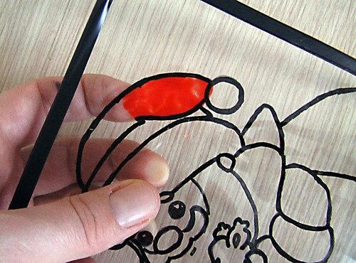 Картины из пластилина на стекле своими руками