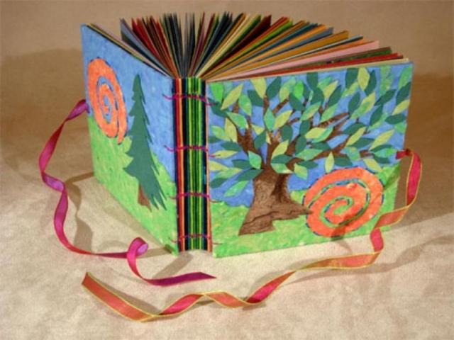 Поделка в детский сад книжка